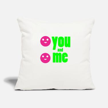 "Me And You Forever you and me forever - Throw Pillow Cover 18"" x 18"""