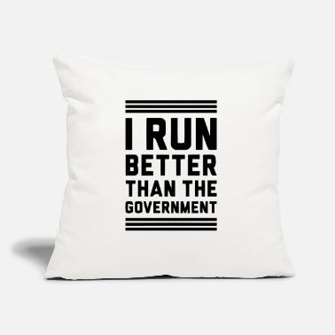 "Government Governement - Throw Pillow Cover 18"" x 18"""