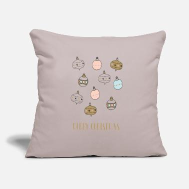 "christmas christmassy xmas present cool gift - Throw Pillow Cover 18"" x 18"""