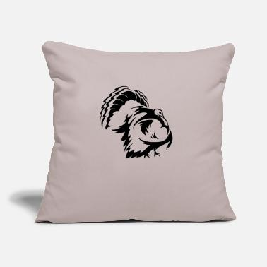 "Turkey Turkey - Throw Pillow Cover 18"" x 18"""