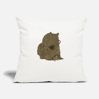 "Empty Emptiness - Throw Pillow Cover 18"" x 18"""