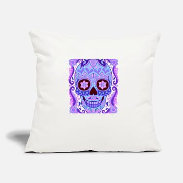 "skull - Throw Pillow Cover 18"" x 18"""