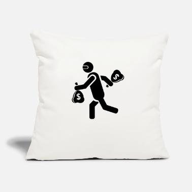 "Crook crooks - Throw Pillow Cover 18"" x 18"""