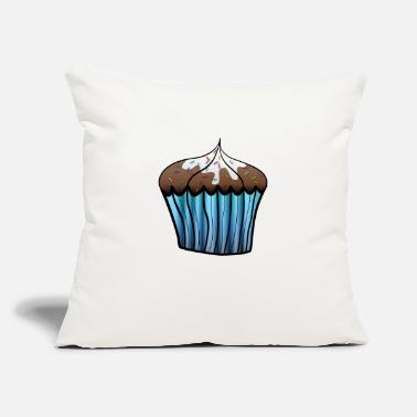 "Cupcake Cupcake - Throw Pillow Cover 18"" x 18"""