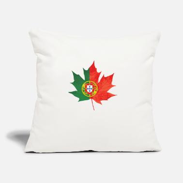 "Portuguese Portuguese Canadian - Throw Pillow Cover 18"" x 18"""