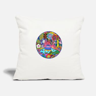 "Pond Pond Abstract - Throw Pillow Cover 18"" x 18"""
