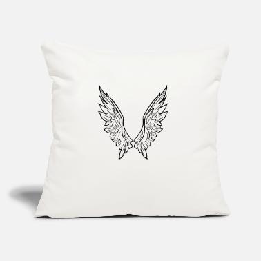 "Wing wing - Throw Pillow Cover 18"" x 18"""