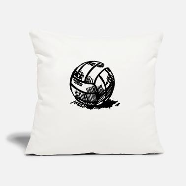 "Volley volley - Throw Pillow Cover 18"" x 18"""