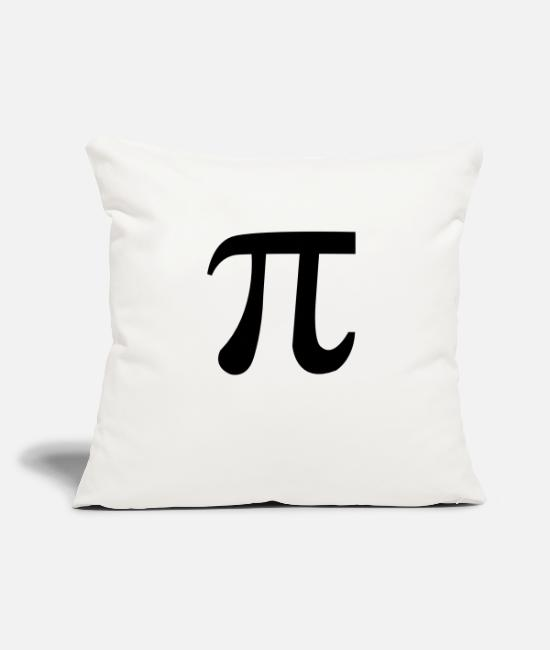 "1 Pillow Cases - Pi - Throw Pillow Cover 18"" x 18"" natural white"