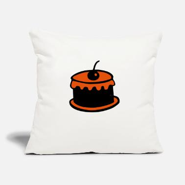 "Pastries pastry - Throw Pillow Cover 18"" x 18"""