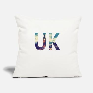 "Uk UK - Throw Pillow Cover 18"" x 18"""