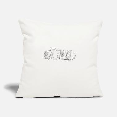 "Found - Throw Pillow Cover 18"" x 18"""