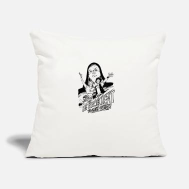 "Weird Al Yankovic be excellent - Throw Pillow Cover 18"" x 18"""