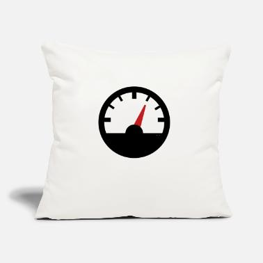 "Speedometer Speedometer - Throw Pillow Cover 18"" x 18"""