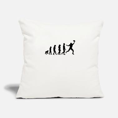 "Wide Receiver Football Evolution Wide Receiver - Throw Pillow Cover 18"" x 18"""