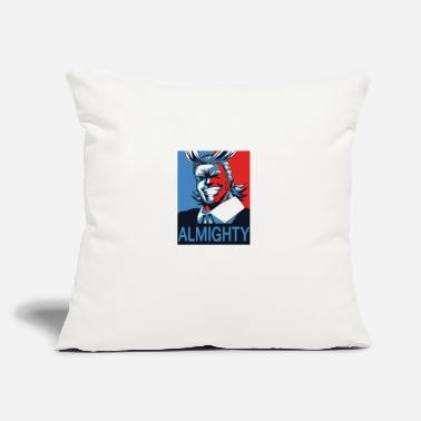"Might ALL MIGHT - Throw Pillow Cover 18"" x 18"""