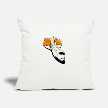 "Space Shuttle Space Shuttle - Throw Pillow Cover 18"" x 18"""