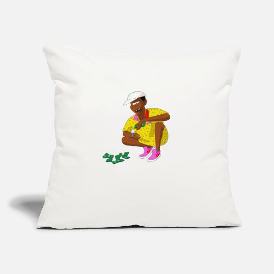 "Wolf Pillow Cases - Tyler the Creator - Throw Pillow Cover 18"" x 18"" natural white"