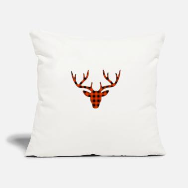 "Antler antlers - Throw Pillow Cover 18"" x 18"""