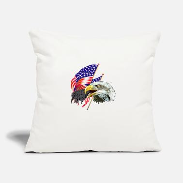 "Eagle Eagle - Throw Pillow Cover 18"" x 18"""