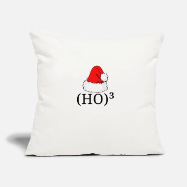 "Ho Ho Ho HO³ - HO HO HO - Throw Pillow Cover 18"" x 18"""