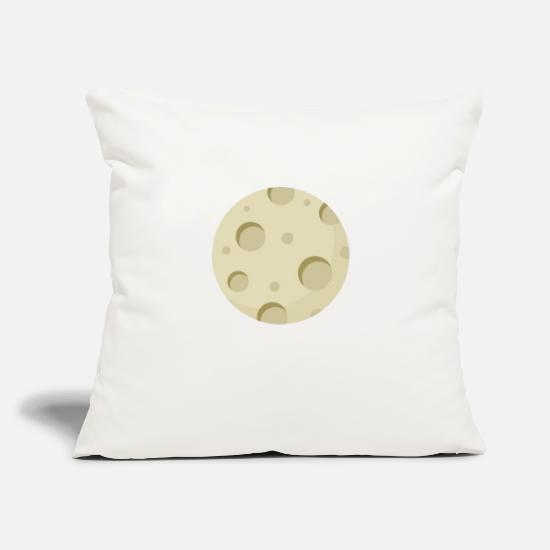 "Horoscope Pillow Cases - Month Eclipse - Throw Pillow Cover 18"" x 18"" natural white"