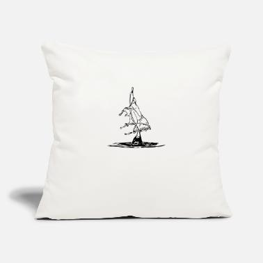 "Water Droplets Water droplet - Throw Pillow Cover 18"" x 18"""
