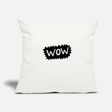 Blasen Wow in Buble chat - Throw Pillow Cover