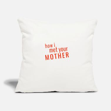 "How I Met Your Mother How i met your mother TV show - Throw Pillow Cover 18"" x 18"""