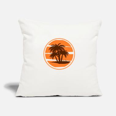 "Palm Trees Palm Trees - Throw Pillow Cover 18"" x 18"""