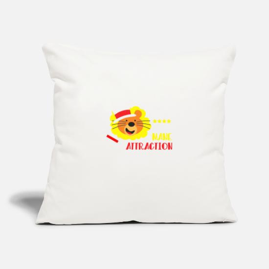 "The Office Pillow Cases - I am the mane attraction - Throw Pillow Cover 18"" x 18"" natural white"