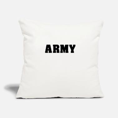 "Army Man ARMY army athlete muscle man gym - Throw Pillow Cover 18"" x 18"""