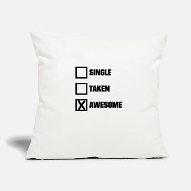 "Forgive Single Single forgive Wonderful Valentine's Day cross - Throw Pillow Cover 18"" x 18"""