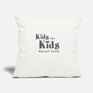 "Kid Kids For Kids - Throw Pillow Cover 18"" x 18"""