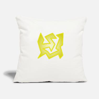 "Cubic Bananas - Throw Pillow Cover 18"" x 18"""