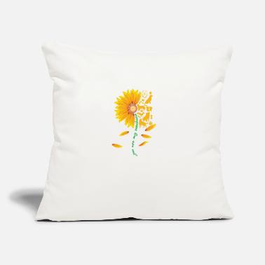 "Paws You are my sunshine dog shirt - Throw Pillow Cover 18"" x 18"""