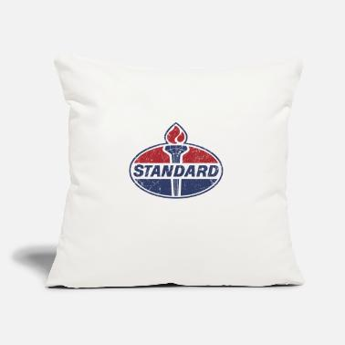 "Oil Standard Oil - Throw Pillow Cover 18"" x 18"""