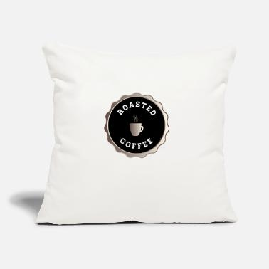 "Roast Roasted Coffee - Throw Pillow Cover 18"" x 18"""