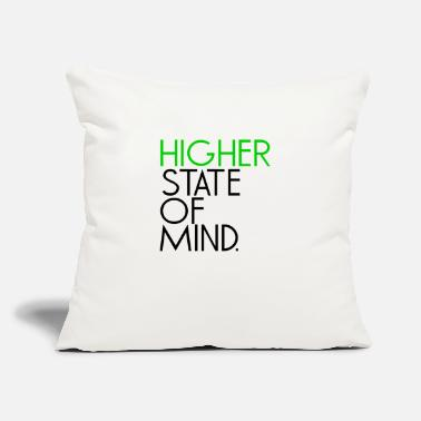 "Higher State Of Mind higher state of mind - Black - Throw Pillow Cover 18"" x 18"""