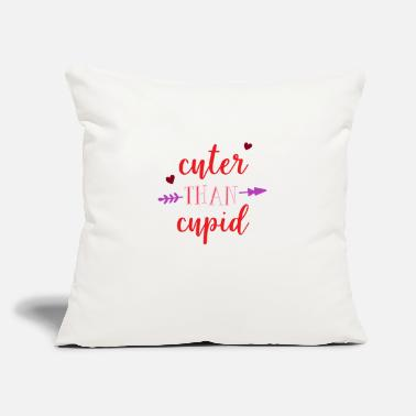 "Cuter Than Cupid - Throw Pillow Cover 18"" x 18"""