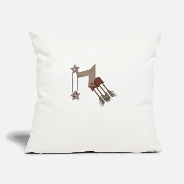 "Clean What It Is clean robot - Throw Pillow Cover 18"" x 18"""