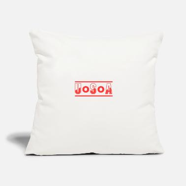 "poster OOO USA - Throw Pillow Cover 18"" x 18"""