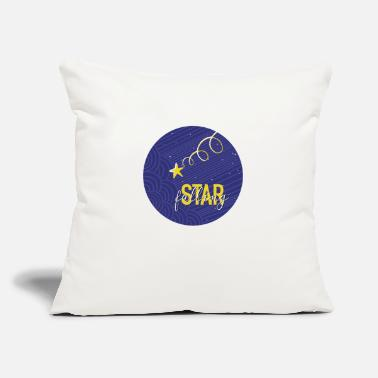 "Fall Falling Star - Throw Pillow Cover 18"" x 18"""