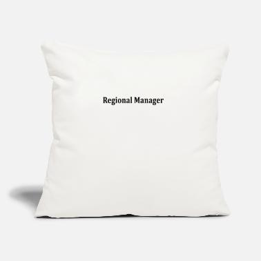 "Region Regional Manager - Throw Pillow Cover 18"" x 18"""