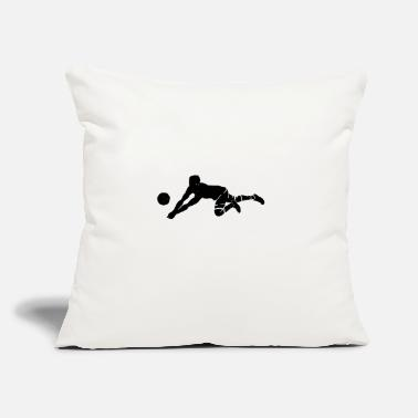 "Volley volley-ball - Throw Pillow Cover 18"" x 18"""