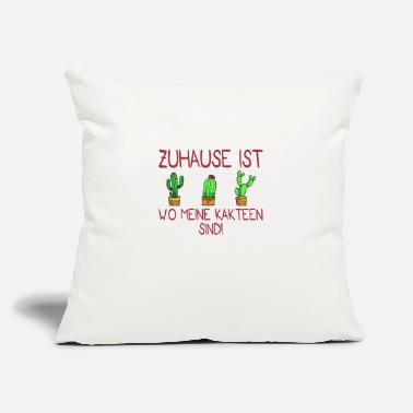 "Tool Home is garden gardener gardening gift - Throw Pillow Cover 18"" x 18"""