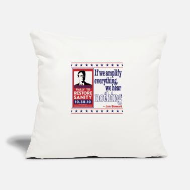 "Amplifier Amplify Everything - Throw Pillow Cover 18"" x 18"""