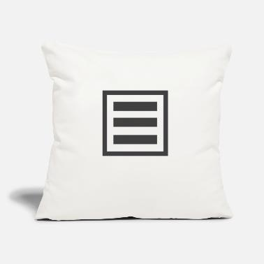 "Forms form - Throw Pillow Cover 18"" x 18"""