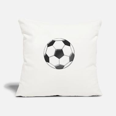 "Regulation Football football - Throw Pillow Cover 18"" x 18"""