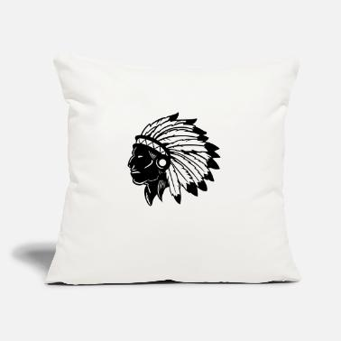 "American Indian American Indian - Throw Pillow Cover 18"" x 18"""
